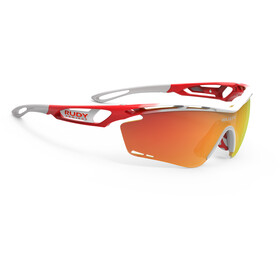 Rudy Project Tralyx Fade Team Trek/Segafredo Glasses white/red-orange